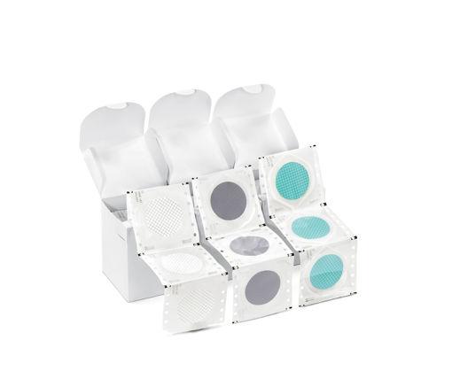 Filtro de Membrana de Acetato de Celulosa (AC) 0,2 µm, blanco, esteril, 47 Ømm x 100u.