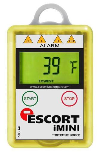 Registrador De Temperatura, Sensor Interno -40 +70°C