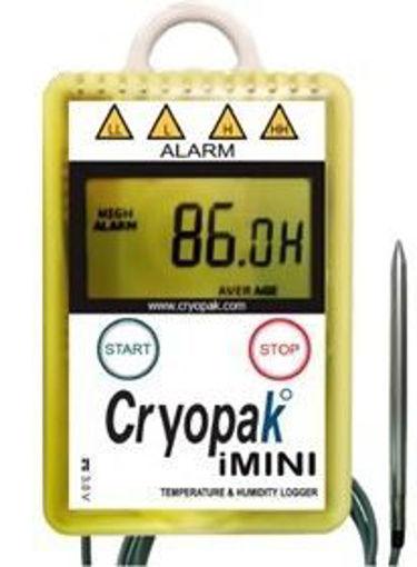 Registrador De Temperatura Con Sensor Externo