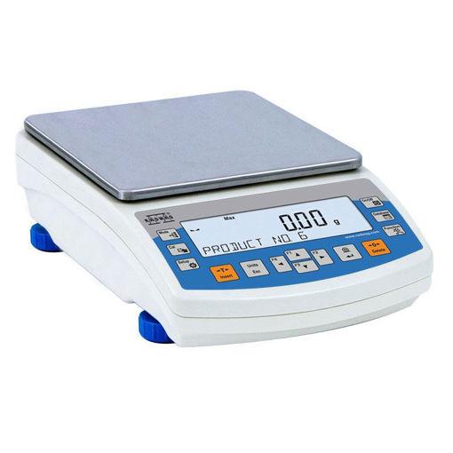 Balanza de precisión Boeco BWL 51 2000gr, 10mg con calibracion externa