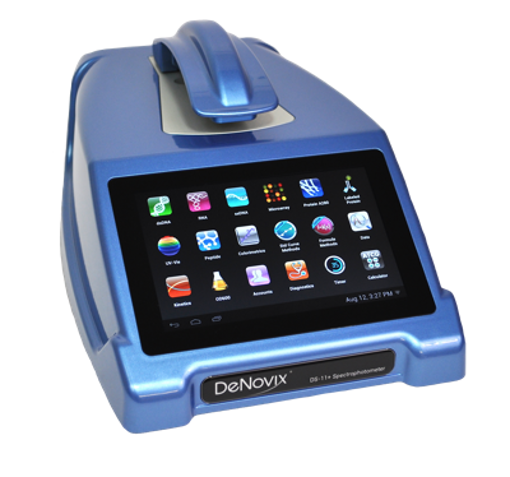 Espectrofotómetro de microvolumenes modular DeNovix DS-11EditarBorrar