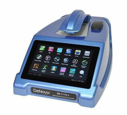 Espectrofotometro de microvolumenes y Fluorometro DeNovix DS-11 FX