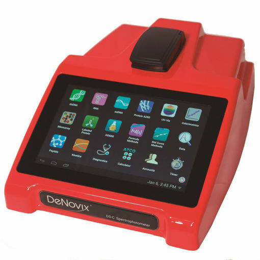 Espectrofotómetro de cubetas DeNovix DS-C