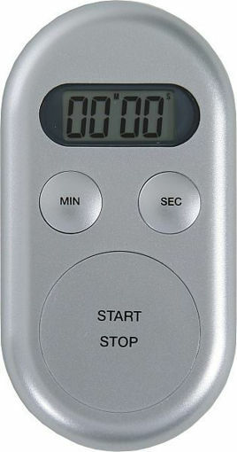 Timer digital plateado Boeco 200