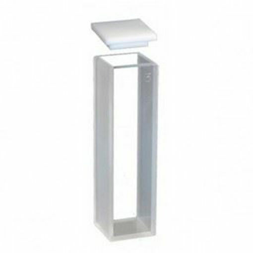 Cubeta de cuarzo para fluorometria 10mm - 3,5ml (12x12x45mm)