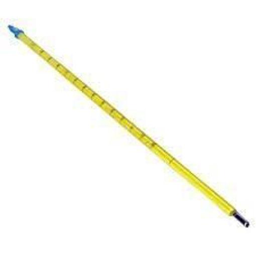 Termómetro para alcoholes de mercurio de -1 a 35ºC al 0,1ºC inmesión total