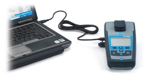 Turbidimetro portátil Hach 2100Q01 con puerto USB