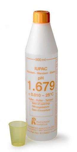Solución estándar certificada IUPAC pH 1,679 x 500mL