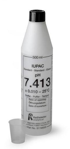 Solución estándar certificada IUPAC pH 7,413 x 500mL