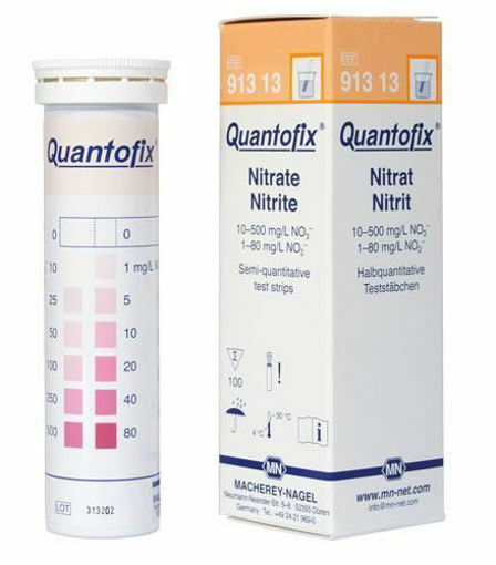 Tiras para determinación de nitrato/nitrito x 100u.