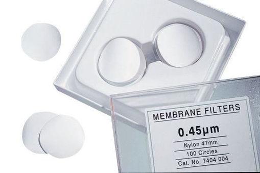 Filtro de Membrana de Nylon 0,45 um Ø47mm x 100u.