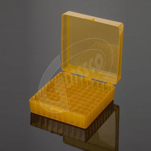Caja para 100 criotubos de 2ml con tapa