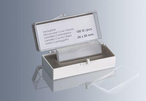 Cubreobjetos Superior Industria Alemana x 100u.