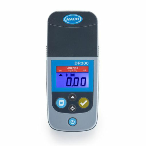 Colorímetro portátil DR300 para determinación de Cloro