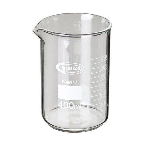 Vaso de precipitado de vidrio forma baja graduado Glassco