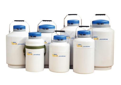 Contenedor para nitrógeno líquido Dewar Series Biologix