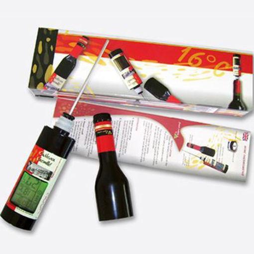 Termómetros digitales para vino, horno, parrilla, multiusos, origen Francia