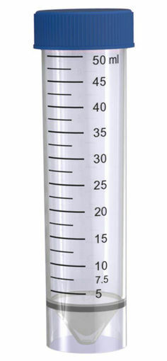 Tubo cónico con faldón autoparante estéril 50ml x 25u.