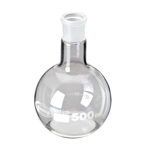 Matraz de vidrio cuello esmerilado Glassco