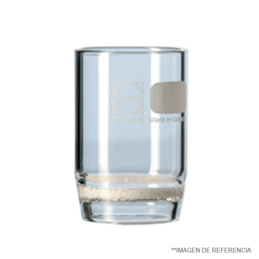 Crisol filtrante de 50 mmØ x 50 ml de capacidad