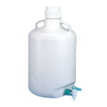 Bidon plástico de PP autoclavable a 121ºC Con grifo