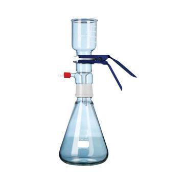 Equipo de vidrio para filtración de solventes de HPLC 2 lts.