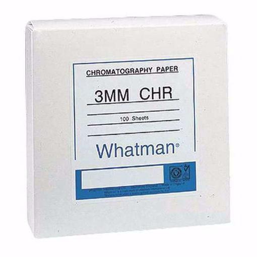 Papeles de cromatografía de celulosa Chr de grado 3MM 20 x 20cm x 100 hojas (3030-861)