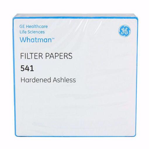 Papel de filtro cuantitativo, endurecido sin cenizas, grado 541 x 100u.