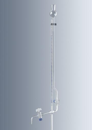 Microbureta según Bang origen Alemania con robinete de PTFE Marca Marienfeld