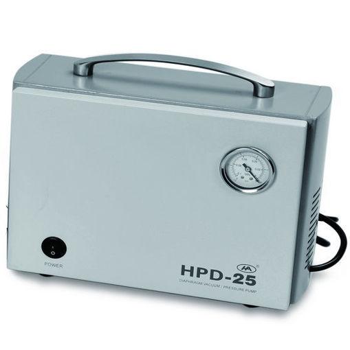 Bomba de vacío HA, capacidad 25 l/min con control de vacío ajustable