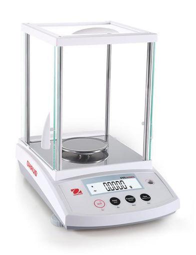 Balanza analítica Ohaus PR 220gr. x 0,1mg. calibración interna