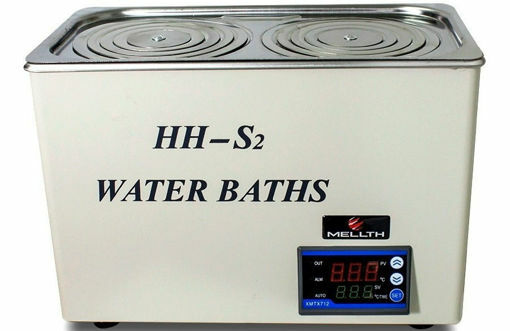 Baño termostático digital HHS2 de 2 posiciones / 6 lts.