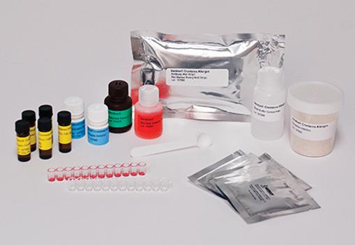 Kit para detección de alérgenos en Crustáceo x 38u.