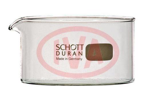 Cristalizador con pico Duran Schott