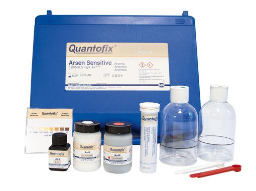 Tiras Quantofix sensitiva para arsenico x 100u.