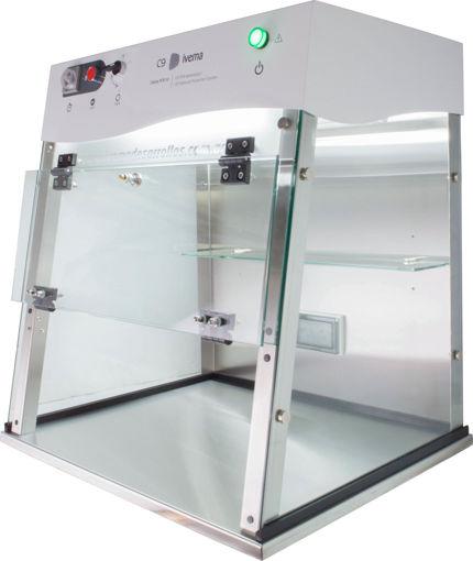 Cabina para preparación de ensayos PCR Ivema C9
