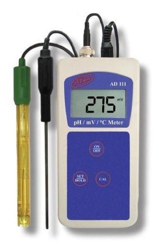 Phmetro Portátil AD111 pH/T°/ORP-mV
