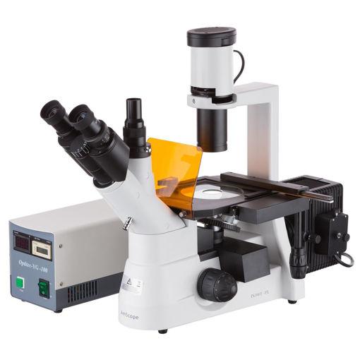 Microscopio Trinocular Biológico Invertido XYL-403-YAT-PLAN