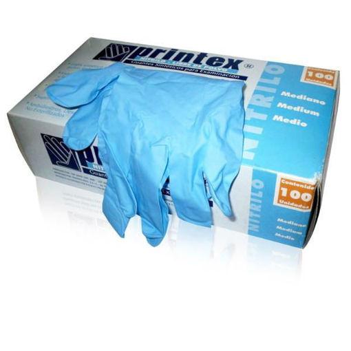 Guantes de nitrilo en caja x 100u.