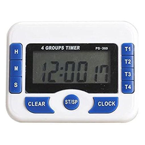 Timer digital PS-360 de 4 timers independientes