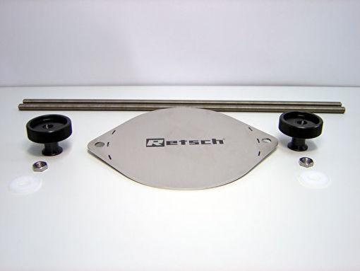 """Sistema de ajuste economy para tamizadora - tamices de 100, 200 y 203 mm (8"""")"""