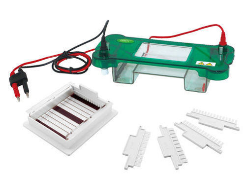 Cuba de electroforesis horizontal 4,8 x 7,5cm JY-SPAT