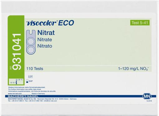 Kit Visocolor ECO para nitrato. Rango: 1 - 120 mg/l NO3 x 110 determinaciones