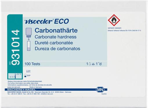 Kit de prueba titrimétrica VISOCOLOR ECO Dureza de carbonatos x 100u.