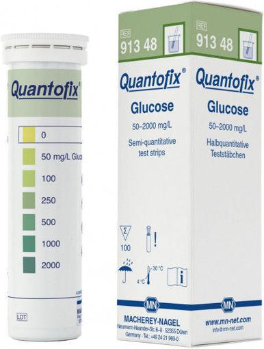 Tiras Quantofix para la determinación semicuantitativa de glucosa x 100u.