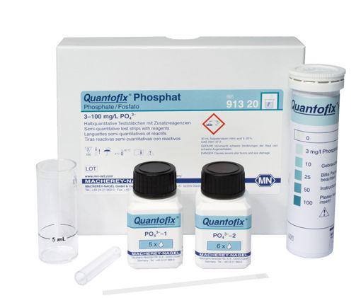 Tiras reactivas semicuantitativas fosfato QUANTOFIX x 100u.