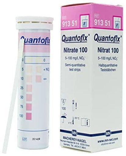 Tiras reactivas semicuantitativas QUANTOFIX Nitrato x 100u.