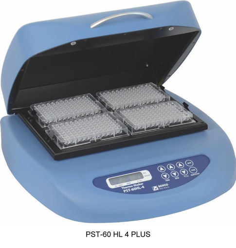 Agitador con Incubadora para 4 microplacas PST-60 HL