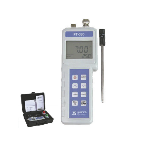 Medidor de PH / ORP / TEMP portátil PT-380