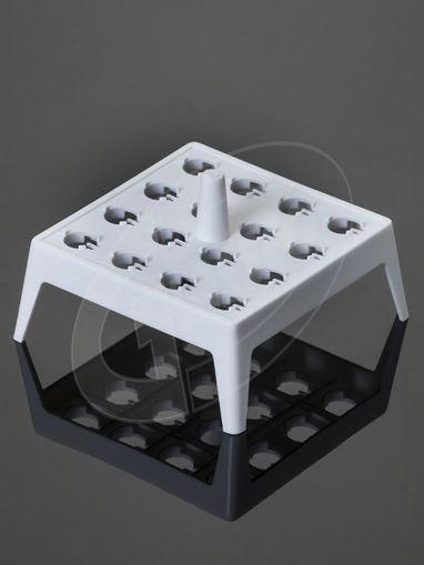 Gradilla flotante para 16 tubos 1,5ml para incubación en baños de agua